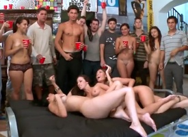 Jada Stevens rammed elbow a university troop