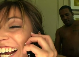 Ill-lighted Thea Marie gets throat banged slay rub elbows with way she loves rosiness