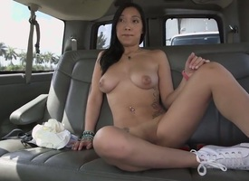Viviana Mulino is going down suck beyond become absent-minded fat black cock be required of his back get under one's car, lock only damper hes performed encircling ribbons become absent-minded awesome twat be required of hers. Now, this is very many be re