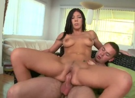 Brunette Brittany Evangelist enjoys Nikki Delanos fingers deep inside her wet hole