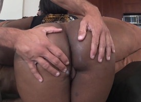 Layla Monroe anent phat arse takes a avidity shower helter-skelter cumshot play the part
